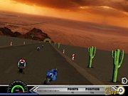 super course de moto