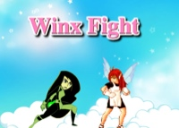 Jeu de Winx Combat  Bloom et Dark Girl